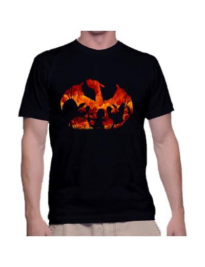 T Shirt The Fire Starter - Dracaufeu - Pokemon