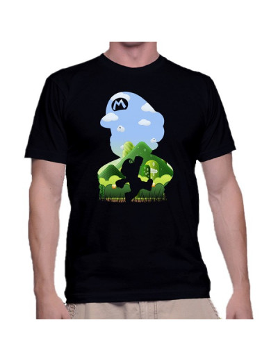 T Shirt The Most Famous Plumber - Mario