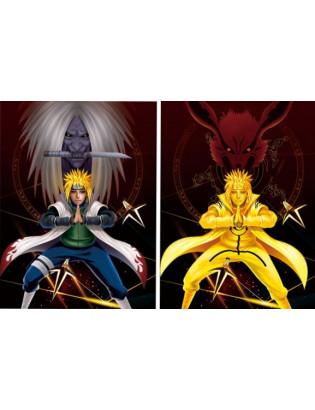 Cadre Demon Slayer 3D - Tanjiro Kamado / Zenitsu Agatsuma / Inosuke Hashibara