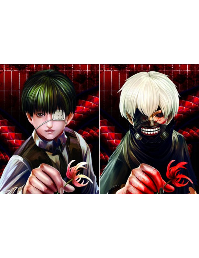 Cadre Tokyo Ghoul 3D - Kaneki