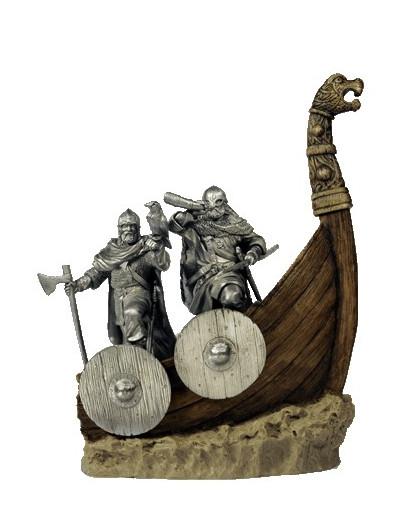 Vikings sur le Drakkar