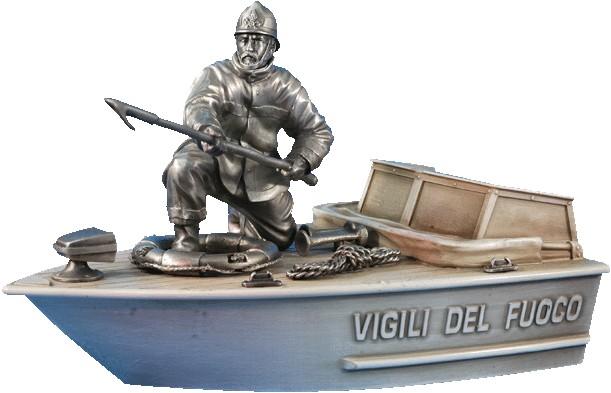 ITALIE-VIGILI DEL FUOCO