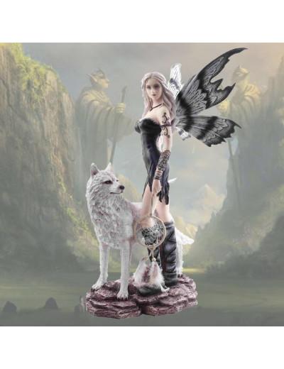 Fée loup attrape-rêve