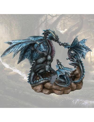 Maman Dragon avec ses Petits