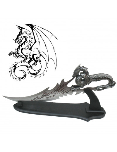 Dague Dragon Cracheur de Feu