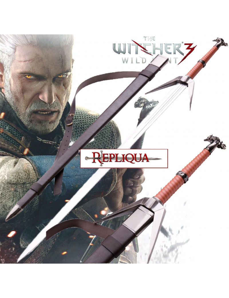 Épée Twins Wolf Marron - The Witcher 3