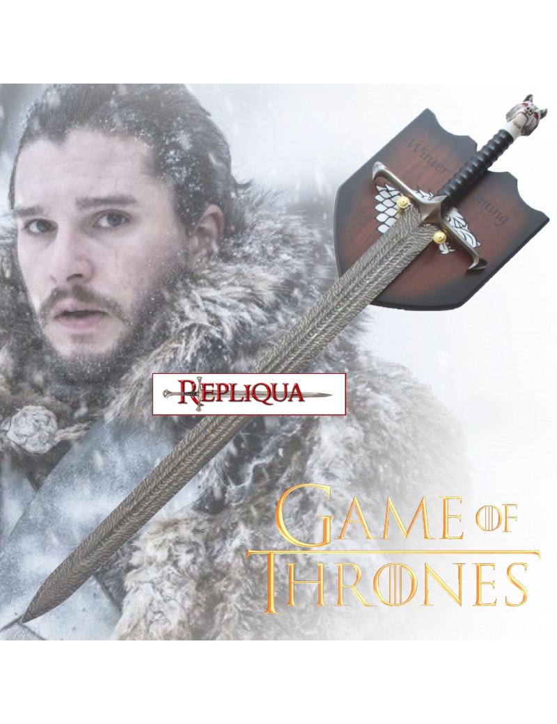 Épée Jon Snow Lame Noir - Game Of Thrones