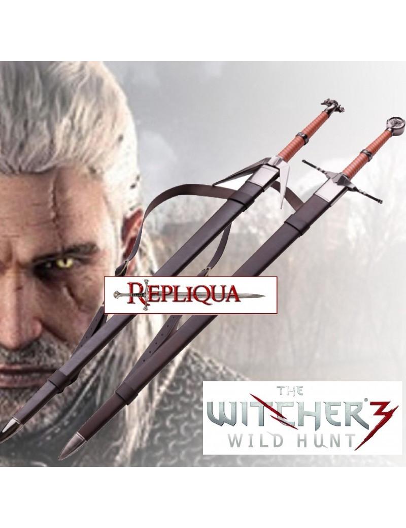 lot épée Geralt de Riv finitions luxe